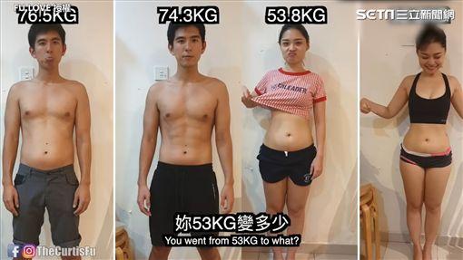 情侶瘦身效果顯著。