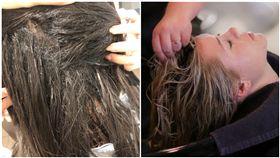 髮廊,接髮,洗頭/爆料公社二館、Pixabay