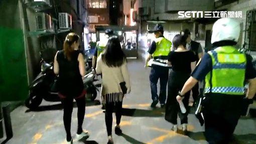 台北,萬華,掃黃,賣淫(圖/翻攝畫面)