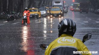 13縣市大雨特報 注意雷擊與強陣風