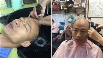 韓國瑜稱用念力發大財 他:怎不長髮