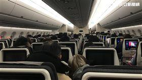 航空,空服員,乘客,機艙,飛機(圖/記者楊惟甯攝影)