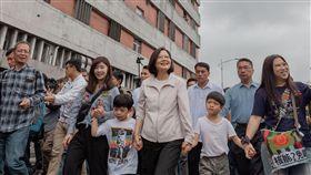 蔡英文出席廢核遊行(總統府提供)