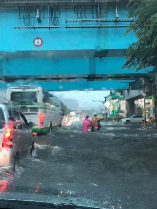 台北,林口,機捷,淹水,雷雨
