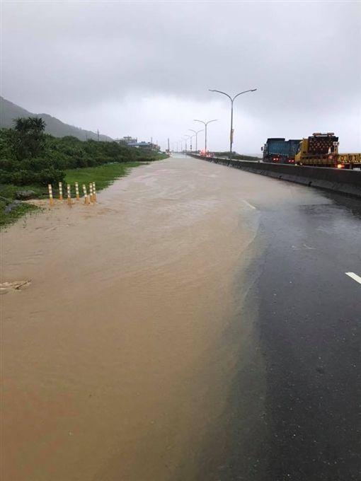 暴雨,金山,淹水,管制,災情