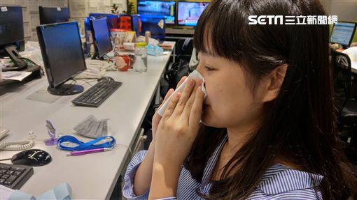 鼻子過敏,打噴嚏,流鼻水,過敏,感冒,生病