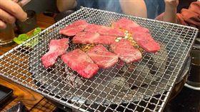 圖/記者谷庭拍攝,上吉燒肉,日本和牛,燒烤(負面勿用)
