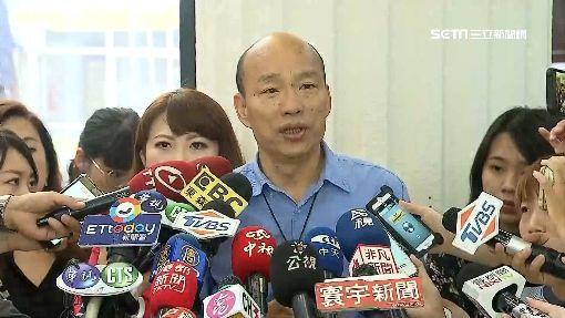 無心市政市民失望! 韓國瑜支持度下滑5%