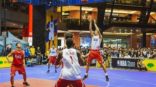 NBA 3x賽事熱烈展開中。(圖/主辦單位提供)