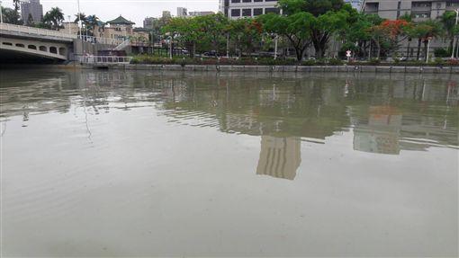 愛河,綠豆湯,韓國瑜,環保局,下雨