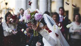 婚禮,結婚,新娘。(圖/Pixabay)