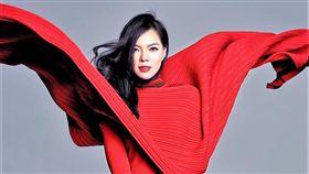 曾馨瑩自曝面對個性霸氣的丈夫,她大多數屬「配合」那一方的角色,以柔克剛。(圖/翻攝自臉書)