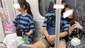 香港,地鐵,情侶,放閃,乘客