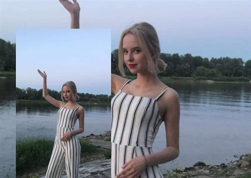 波蘭,女模,雕像(圖/翻攝自IG)