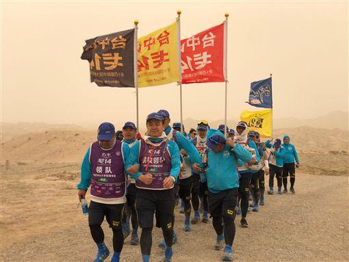 中山EMBA戈14隊員 不畏九級強風力拼108公里