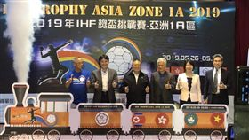▲IHF挑戰賽26日在台中逢甲大學體育館開打。(圖/記者劉忠杰攝影)
