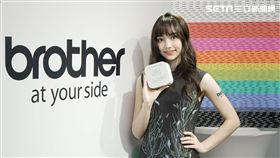 黑嘉嘉,Brother,Hello Kitty,聯名,限量,Hello Kitty行動美型標籤機,手機專用,標籤機