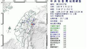 0522地震/氣象局