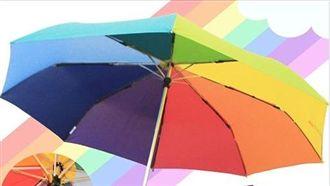 只送不賣!王浩宇送「彩虹傘」挺同婚