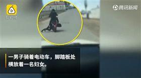 (圖/翻攝自梨視頻)中國,內蒙古,家暴,性侵
