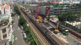 台南市區鐵路地下化計畫,拆遷,暫緩,住戶,/鐵道局提供