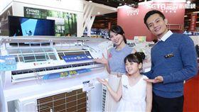 台北電器空調3C影音大展,奇美,家電,冷氣,省電,冰箱