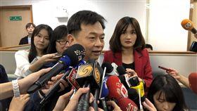 民進黨中執會前,卓榮泰、羅文嘉、林錫耀、王定宇受訪 圖/記者陳冠穎攝影