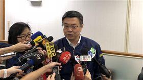 民進黨中執會前,卓榮泰、羅文嘉、林錫耀、王定宇受訪 圖/記者黃宣尹攝影