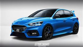 ▲Ford Focus RS預想圖(圖/翻攝X-TOMI Design)
