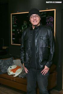 導演廖人帥Leo與視覺設計師提摩西接受三立新聞網專訪。(記者林士傑/攝影)