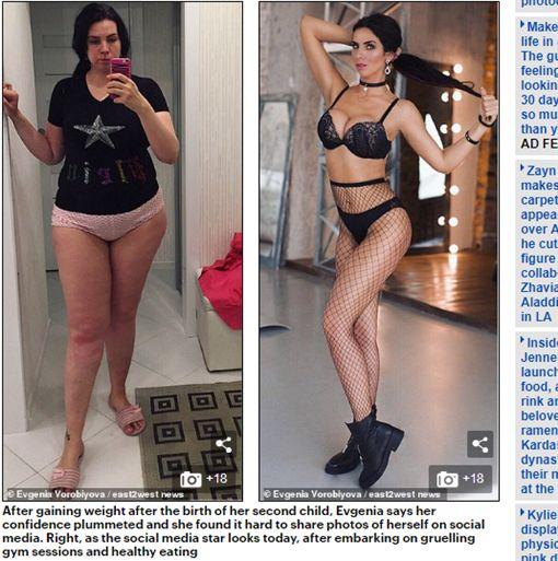 生2胎暴肥變127公斤 老公回頭吃前女友 她「減掉半個自己」休夫(圖/翻攝自每日郵報)