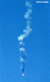 幻象2000、IDF經國號、F16戰機發射飛彈各命中目標。(記者邱榮吉/花蓮外海拍攝)