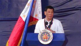 (16:9)菲律賓總統杜特蒂菲律賓總統杜特蒂喜歡說笑話,以拉近與民眾的距離。(檔案照片)中央社記者林行健巴賽城攝  108年2月19日