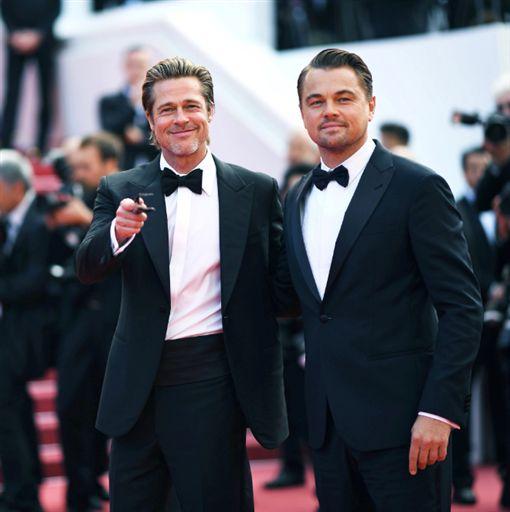 (圖/翻攝自推特)布萊德彼特,李奧納多狄卡皮歐,Brad Pitt,Leonardo DiCaprio