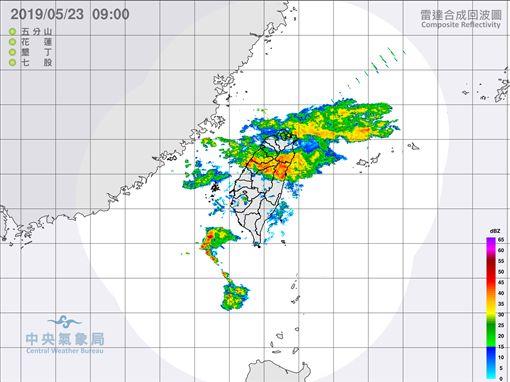 天氣,華南雲雨區,大雨,/中央氣象局