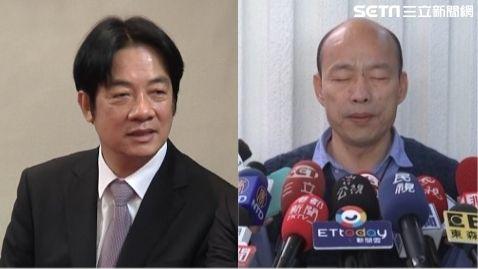 韓國瑜,賴清德,組合圖