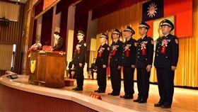 基隆市警察局 辦理卸、新任人員聯合交接典禮