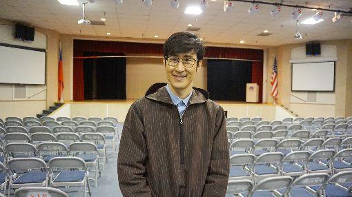 韓國人教華語  丁海永熱愛中華文化在南加州北嶺高中(Northridge High School)擔任華語教師的丁海永是韓裔美國人,從小熱愛中華文化在華僑中小學學習華語,能通韓語、華語及英語。中央社記者林宏翰洛杉磯攝  108年5月23日