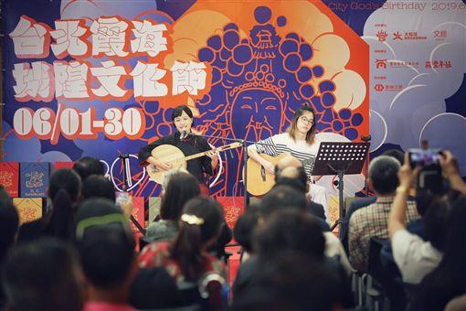霞海城隍文化節文總首度加入 為區域注入更多創意