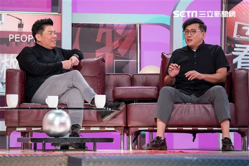 曾國城、詹姆士上《改變的起點》圖/TVBS提供