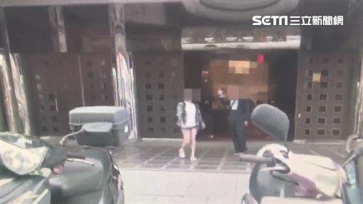 台北市刑大偵一隊破獲剝皮酒店詐騙集團(翻攝畫面)