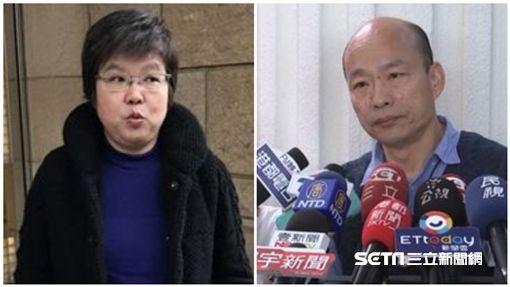 韓國瑜、黃光芹/記者潘千詩攝影、資料照
