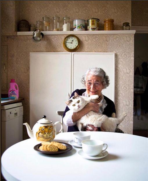 出版社哈波柯林斯(HarperCollins)今日宣布,旗下以「來喝下午茶的老虎」一書享譽全球的英國知名經典童書繪本作家茱迪斯.柯爾(Judith Kerr)逝世,享耆壽95歲。(圖/翻攝自推特davidwalliams)