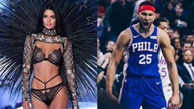NBA/西蒙斯、超模珍娜驚傳分手! NBA,費城七六人,Ben Simmons,分手,超模,Kendall Jenner 翻攝自推特