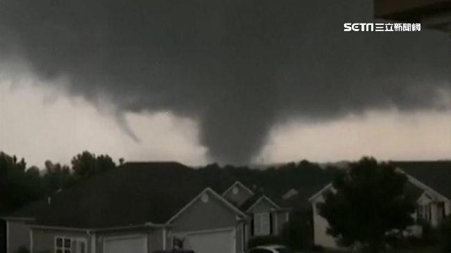 災難季開始!龍捲風侵襲密蘇里州 睡夢遭襲死傷嚴重