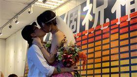 同婚,同志婚姻,同婚合法化。(圖/記者馮珮汶攝)
