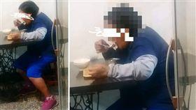 假裝身障騙餐點?一名男店員表示,他日前遇到一名身障的客人,沒想到對方不斷想「凹折扣」,還擺出一副商家請吃飯是應該的樣子。後來店長決定幫助弱勢,並請她吃這一頓,結果她吃完後,「掰咖」的腳竟都好了,讓他感慨地說:「覺得失望…」(圖/翻攝自爆怨公社)
