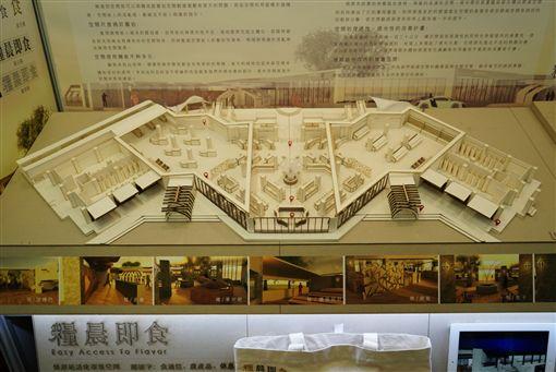 復興商工學生畢業展覽作品(記者郭奕均攝影)