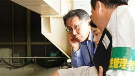 柯文哲訪日參訪火力發電廠 圖/台北市政府提供