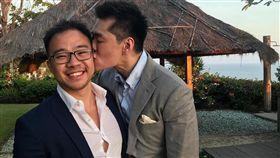 李光耀孫子結婚(圖/翻攝自Li Huanwu臉書)
